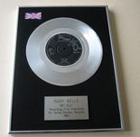MARY WELLS - MY GUY PLATINUM Single Presentation DISC